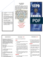 NYPD Shield Safety Pamphlet