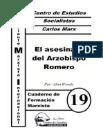 CFM #19 El Asesinato Del Arzobispo Romero (a. Woods)