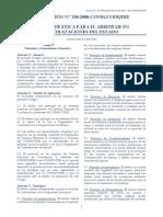CODIGO DE ETICA ARBITRAJE CONTRATACIONES CON EL ESTADO.pdf