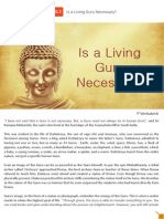 Is a Living Guru Necessary (SatVidhya)