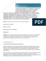 Derechos Reales en El Proyecto. Smayevsky (1)
