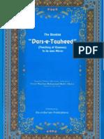 Darse Tauheed