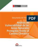 Analisis de Vulnerabilidad en Areas Naturales Protegidas del Perú