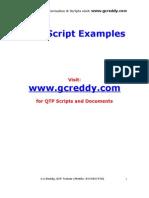 QTP Scripts