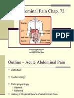 Acute Abdominal Pain 2