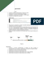 FQ II  Resultados, indice de refracción y densidad