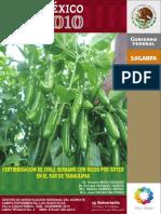 Guía para el cultivo de chile tampico.