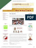 Qigong Qigong Institutul de Barcelona - Jing Yan Cao