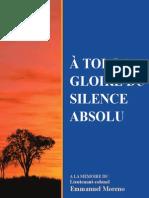 À TOI, LA GLOIRE DU SILENCE ABSOLU