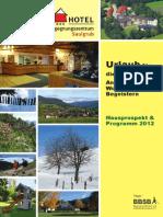 Saulgrub Programm 2012
