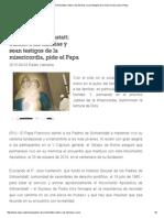 Padres de Schoenstatt_ Cuiden a Las Familias y Sean Testigos de La Misericordia, Pide El Papa