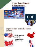 Las Organizaciones Internacionales Onu