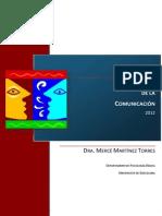 Psicología de la Comunicación - M. Martínez M.