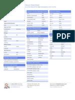Cheatsheet - SQL Server