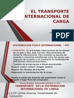El Transporte Internacional de Carga.