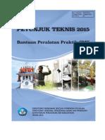 24-PS-2015 Bantuan Peralatan Praktik SMK