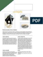 Berinjela - Fonte de cálcio, ferro e fósforo