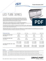 Dracast Ledt4000 Tube Series Info Sheet