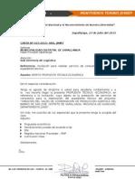 Carta Técnico-económico - Montiveros Toribio Jossef Michel - Modelo