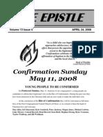 EPISTLE 2008-04