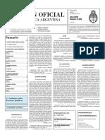 Boletin Oficial 04-03-10 - Segunda Seccion
