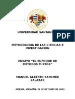 Ensayo Modelo Mixsdjsdto de Investigacion