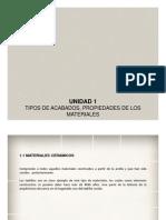 ACABADOS ARQUITECTOìNICOS - IUCMA