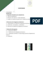 QUIMICA I programa de estudio del subsistema IDIFTEC