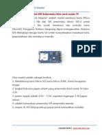 Manual MicroSD Card Adapter