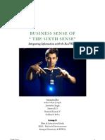 Sixth Sense - MBA Assignment Work