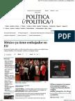 02-09-15 México ya tiene embajador en EU