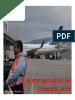 Los Sujetos Operadores Del Transporte Aereo PDF