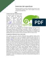 Diferencias Del OpenSuse