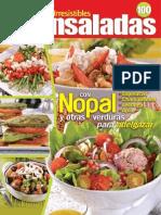 Irresistibles Ensaladas 100 - Nopal y Otras Verduras