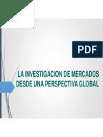 La Investigacion de Mercados Desde Una Perspectiva Global