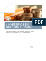 Inversion Educativa 2015