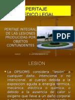 Lesiones I. Peritaje de Contusiones