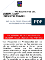Programa Pre-requisitos Del Sistema Haccp