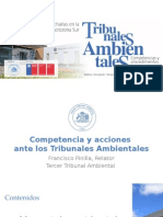 Competencia Tribunales Ambientales