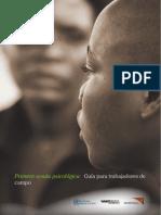 Primera Ayuda Psicológica. Guía Para Trabajadores de Campo