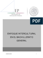 Enfoque Intercultural Bachillerato Gral