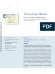 The Sociology of Finance by Bruce G. Carruthers and Jeong-Chul Kim