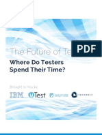 Where Do Testers Spend Time