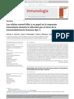Las Células Natural Killer y Su Papel en La Respuesta Inmunitaria Durante La Infección Por El Virus de La Inmunodeficiencia Humana Tipo-1