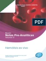 Boletin 3, notas pre analiticas BD