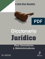 DICCIONARIO JURIDICO