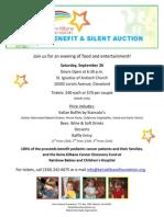 2015 keira kilbane benefit flyer