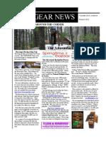 TOPOgear.com Outdoors Newsletter March 2010