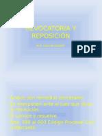 Revocatoria y Reposición Clase 3