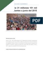 Censo Del Peru